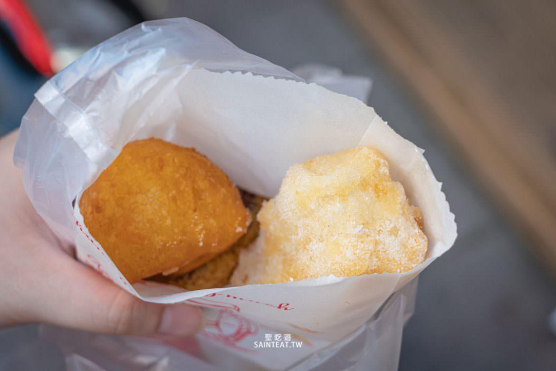 台南美食推薦》林家白糖粿番薯椪|超好吃台南必吃古早味點心,一個不到10元!